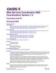 04 December 2006 - docs oasis open - Oasis