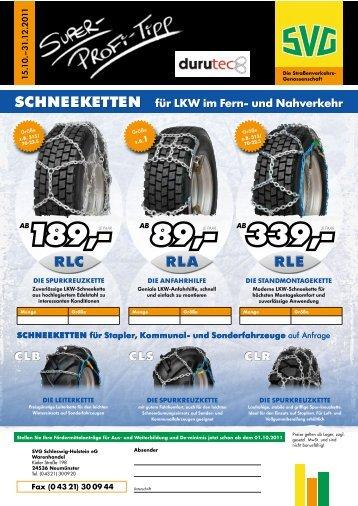 RLE SCHNEEKETTEN für LkW im Fern- und nahverkehr CLS ...  - SVG