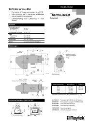 Datenblatt ThermoJacket (379,72 KB) - Meyer Messtechnik