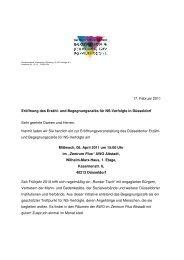 Einladung Eröffnung - Bundesverband Information und Beratung für ...