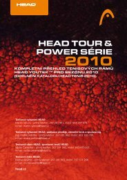 HEAD TOUR & POWER SÉRIE