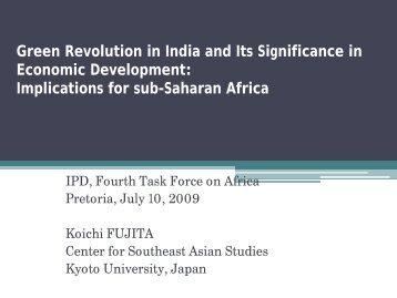Koichi Fujita.pdf - JICA Research Institute