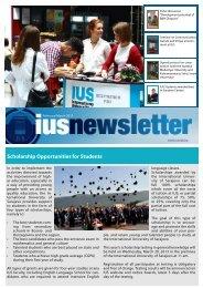 Scholarship Opportunities for Students - International University of ...