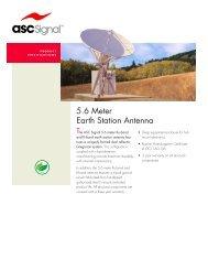 5.6 Meter Earth Station Antenna - Vincor