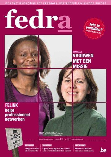 Vrouwen met een missie felink - Fedra - Belgium.be