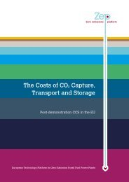 The Costs of CO2 Capture, Transport and Storage - Global CCS ...