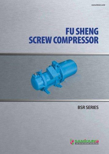 FU SHENG SCREW COMPRESSOR - 삼영종합기기