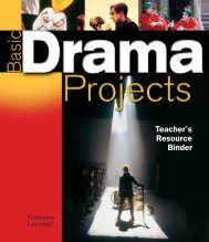 Teacher's Resource Binder - Perfection Learning