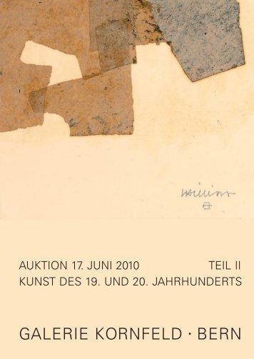 Unsere Tätigkeitsgebiete Auktionen - Galerie Kornfeld