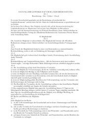 satzung der gewerkschaft der landesbediensteten - Gs.bz.it