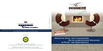 Innovative Stein- und Fliesendekore für die klebstofffreie ... - Sonnhaus