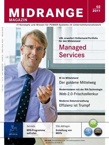 Managed Services - Midrange Magazin
