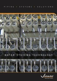 WATER SYSTEMS TECHNOLOGY - Victaulic