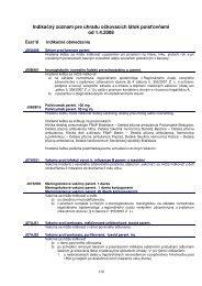 Indikačný zoznam pre úhradu očkovacích látok poisťovňami od 1.4 ...