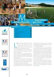 Métiers de l'animation socioculturelle et sportive en ... - FIORE-Corse