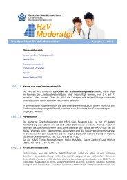 Ausgabe 01/2011 - Deutscher Hausärzteverband Landesverband ...