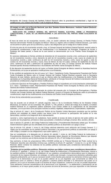 Estatutos - Instituto Electoral y de Participación Ciudadana de Jalisco
