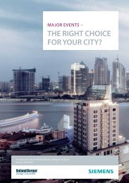 THE RIGHT CHOICE FOR YOUR CITY? - Roland Berger