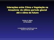 Interações entre Clima e Vegetação na ... - mtc-m15:80 - Inpe