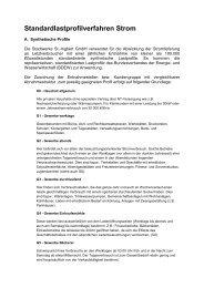 Standardlastprofilverfahren Strom - Stadtwerke St. Ingbert