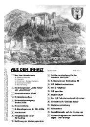 Gemeindenachrichten (0 bytes) - Stadtgemeinde Kirchschlag in der ...