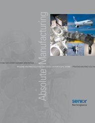 Providing machined solutions that exceed ... - Absolute Manufacturing