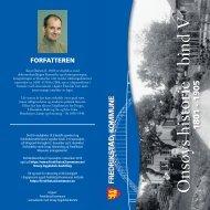 Les mer om boken og forfatteren - Fredrikstad kommune