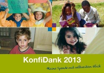 KonfiDank 2013 - Mission Einewelt