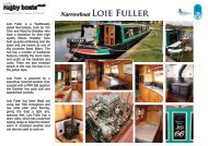 Narrowboat Loie Fuller - Rugby Boat Sales