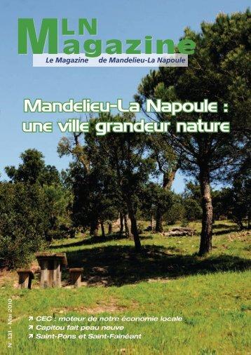MLN Magazine - Mai 2010 - Mandelieu La Napoule