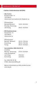 Kundenservice VBB-fahrCard - bei der Stadtverkehrsgesellschaft ... - Seite 3