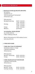 Kundenservice VBB-fahrCard - bei der Stadtverkehrsgesellschaft ... - Seite 5