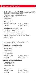 Kundenservice VBB-fahrCard - bei der Stadtverkehrsgesellschaft ... - Seite 7