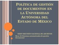 política de gestión de documentos en la universidad autónoma del ...
