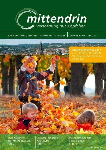 4. Ausgabe 2012 - Stadtwerke St. Ingbert