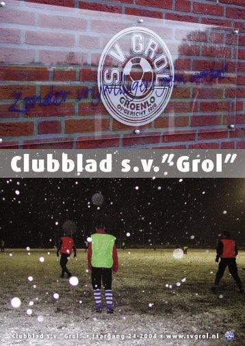 Clubblad 2004-1opmaak.indd - SV Grol