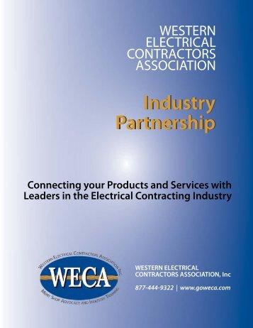 Industry Partnership Industry Partnership - WECA