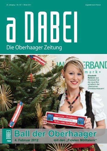 4. Februar 2012 mit den - Gemeinde Oberhaag