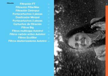 Filtración FT Filtración FilterMax Filtración Cintropur ... - Ionfilter