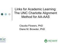 Links for Academic Learning - National Alternate Assessment Center