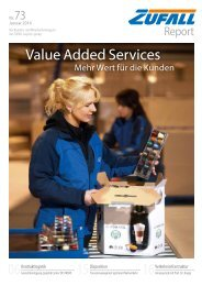 Value Added Services - Friedrich Zufall GmbH & Co. KG