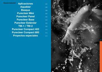 Aplicaciones Aquabier Beaqua Purecleer Mini Purecleer ... - Ionfilter