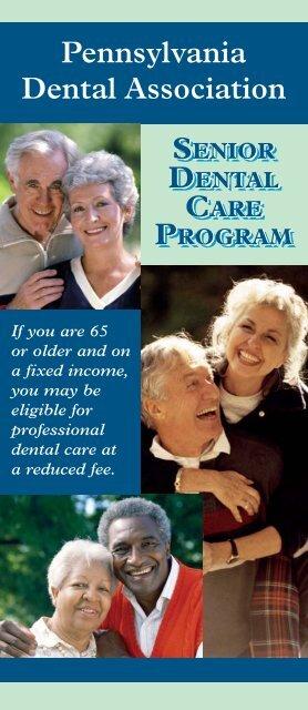 Senior Dental Brochure