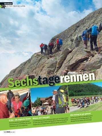 Sechstagerennen - Alpinschule OASE-Alpin