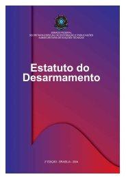 Estatuto do Desarmamento - Livros Grátis