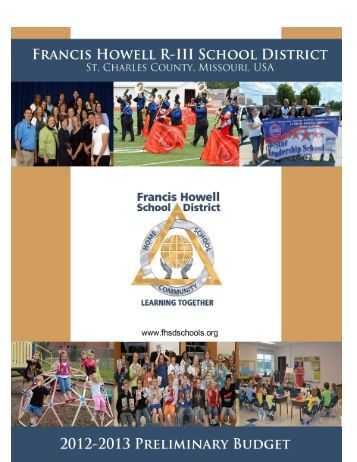 2012-2013 Budget - Francis Howell School District