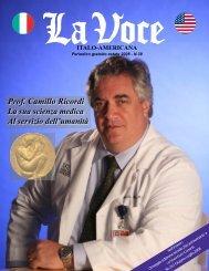 Prof. Camillo Ricordi - La Voce