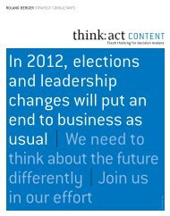 act CONTENT - Project 2012 (PDF, 1262 KB) - Roland Berger