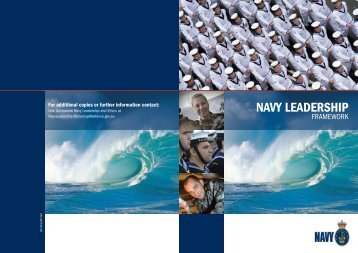 Navy Leadership Framework - Royal Australian Navy