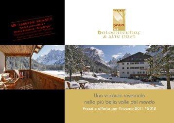 Una vacanza invernale nella più bella valle del mondo - Hotel ...